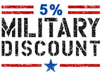 Coupon program for military