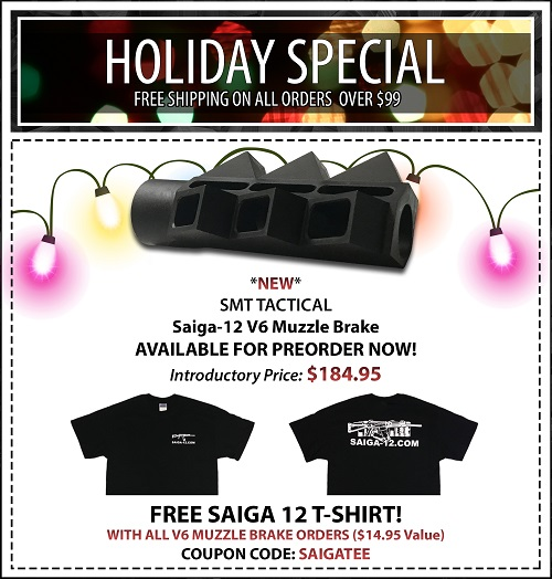 Holiday Free Shipping/Free T-Shirt
