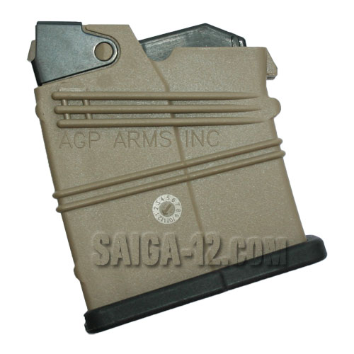 Saiga-12 2-round Magazine GEN3 (AGP) - Dark Earth