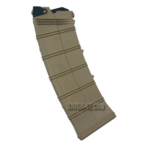 Saiga-12 10-round Magazine GEN3 (AGP) - Dark Earth