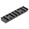 UTG PRO M-LOK(TM) 8-Slot Picatinny Rail Section, Black