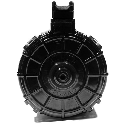 PROMAG Saiga 12 Gauge 12RD Drum Magazine, Smoke Cover (SAI-A7)