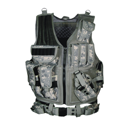 UTG 547 Law Enforcement Tactical Vest, Army Digital
