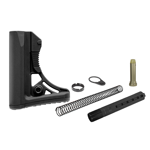 UTG PRO Model 4 Ops Ready S3 Mil-spec AR-15/M4 Style Stock Kit - Black