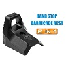 UTG Super Slim Keymod Hand Stop/ Barricade Rest Kit - Black