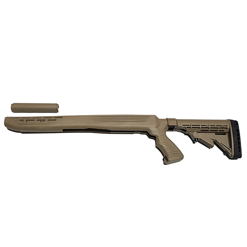 SKS KickLite Recoil Reduction 6 Position Stock - Dark Earth