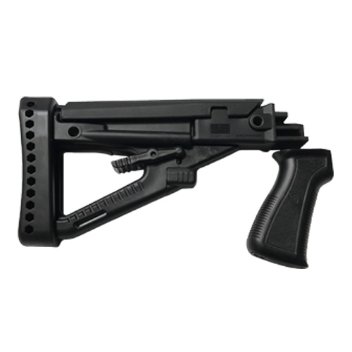 ARCHANGEL OPFOR AK-series 4 Position Adjustable Butt-Stock, with Recoil Pad & ARCHANGEL AK-Series Pistol Grip