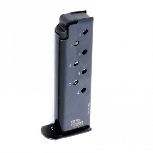 ProMag Smith & Wesson Model 39 9mm 8 Round Blue Steel Magazine